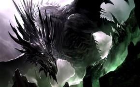 Picture Dragon, Art, Алдуин