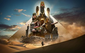 Picture Sphinx, Pyramid, Egypt, Assassin's Creed, Caesar, Cleopatra, Assassin's Creed Origins, Bayek, Biek, Medjai Biek, The …