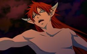 Picture the demon, guy, Kamisaa The Hajimemashita, Very nice God