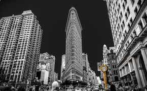 Picture USA, New York City, Flatiron Building