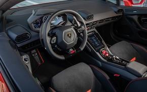 Picture Lamborghini, supercar, salon, Evo, Huracan, 2019, Lamborghini Huracan Evo