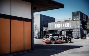 Picture wall, Audi, shadow, 2018, E-Tron Prototype