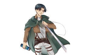Picture art, Attack Of The Titans, Shingeki No Kyojin, Levi, by annmartsd