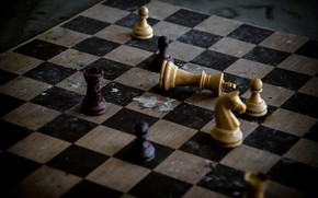 Picture background, figure, chess