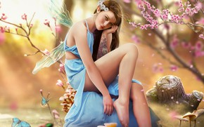 Picture Girl, Style, Girl, Fairy, Tattoo, Fantasy, Tattoo, Art, Beautiful, Art, Style, Fiction, Fiction, Beautiful, Fairy, …