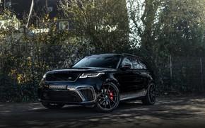 Picture asphalt, black, Land Rover, Range Rover, SUV, Manhart, 2020, Velar, SV 600