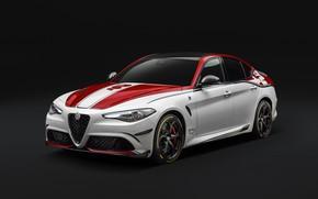 Picture Alfa Romeo, Four-leaf clover, Giulia, 2019, Alfa Romeo Racing