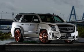 Picture Cadillac, Escalade, tuning, 2019, Zero Design