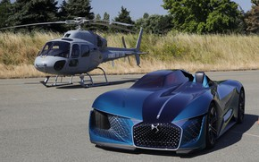 Picture Concept, helicopter, 2018, electric, And-Tense, DS X, DS Motor