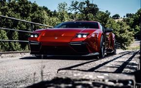 Picture bridge, lights, coupe, V10, De Tomaso Pantera, Hurricane, Lamborghini Huracan, 2020, two-door, Project1, Panther ProgettoUno, …