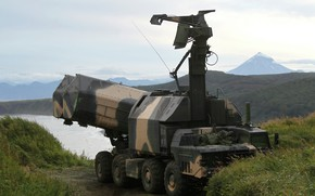 """Wallpaper Russian weapons, 4K51 """"Boundary"""", Coastal missile system"""