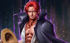 Picture pirate, guy, One Piece, scars