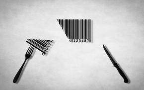 Picture knife, plug, barcode