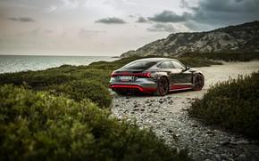 Picture Audi, shore, coupe, 2020, RS e-Tron GT Prototype