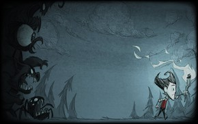 Picture action, adventure, Don't starve, Don't Starve