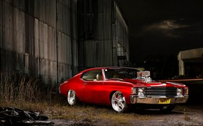 Picture Chevrolet, Coupe, Chevelle, Muscle car, Custom, Vehicle