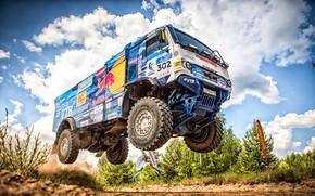 Picture Auto, Sport, Machine, Speed, Truck, Race, Master, Russia, Race, Russia, Speed, 302, Kamaz, Rally, KAMAZ-master, …