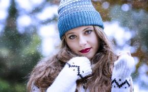 Picture look, hair, cap, Alexandra