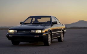 Picture coupe, Infiniti, before, 1990, two-door, Nissan Leopard, M30