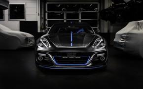Picture Porsche, Panamera, front view, 2018, TechArt, Sport Turismo, Grand GT, Selective