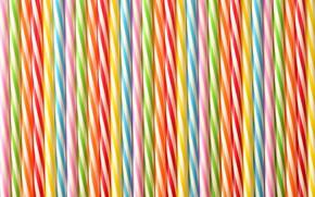 Picture macro, texture, colorful, tube, plastic
