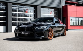 Picture black, coupe, BMW, G-Power, Bi-Turbo, 2020, BMW M8, M8, the four-door, M8 Gran Coupe, F93, …