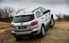 Picture Ford, back, Everest, 4WD, 2015, XLS