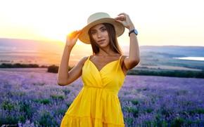 Picture Girl, hat, Denis Lankin, Vitalina Afanasyev