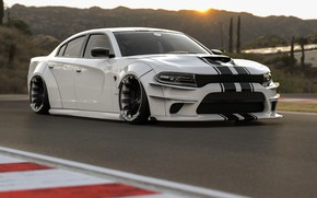 Picture Auto, White, Machine, Dodge, Car, Render, Charger, Dodge Charger, Rendering, Transport & Vehicles, Rostislav Prokop, …