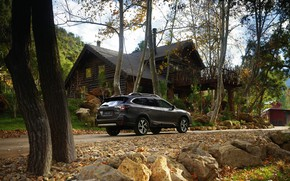 Picture Subaru, universal, Outback, AWD, near the house, 2020