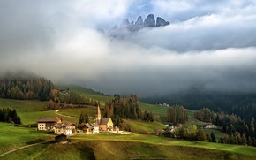 Picture nature, Italy, Dolomite Alps