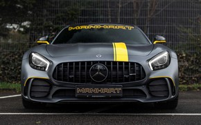 Picture Mercedes-Benz, front view, AMG, Manhart, GT R, C190, 2019