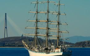 Picture ship, Hope, Vladivostok, sailing
