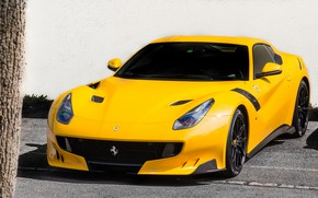 Picture Ferrari, yellow, F12, TDF