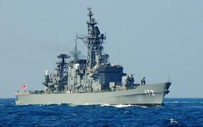 Picture Japan, squadron, destroyer, shimakaze