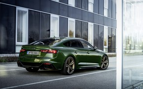 Picture the city, Audi, street, RS 5, 2020, RS5 Sportback