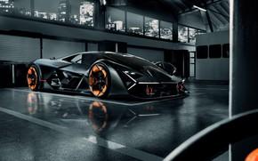 Picture Lamborghini, supercar, hypercar, The Third Millennium