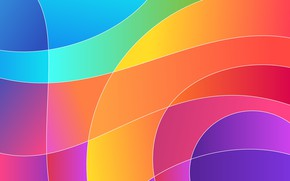 Picture line, abstraction, abstract, style, Colorful, background