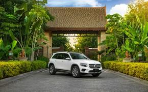 Picture white, Mercedes-Benz, SUV, GLB 200