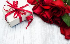 Picture gift, roses, wood, roses, gift box, Olena Rudo