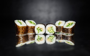 Picture Japan, sushi, sushi, seafood, roll, rolls, Food