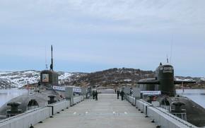 Picture pier, Ekaterinburg, submarines, Prince Vladimir