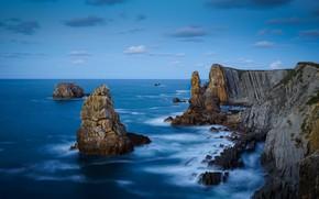 Picture sea, rocks, coast