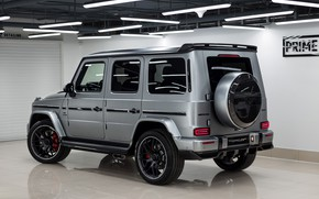 Picture Mercedes-Benz, AMG, G-Class, Gelandewagen, Ball Wed, G63, 2020, Light Package