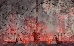 Picture Nezuko Kamado, The Blade Cleaves Demons, Tanjirou Kamado, Yukinoneko, Demon Slayer: Kimetsu no Yaiba, Zenitsu …