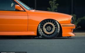 Picture Orange, Bmw, Tuning, E30, M3
