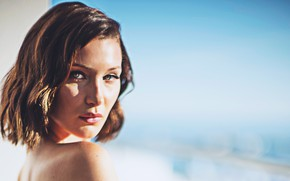 Picture girl, sexy, woman, beauty, celebrity, Bella Hadid