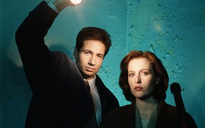 Picture The X-Files, Classified material, Скалли, Малдер