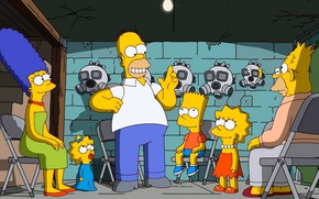 Picture The simpsons, Simpsons, the animated series, bunker, isolation