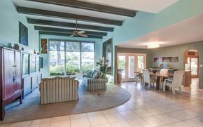 Picture Villa, interior, living room, dining room, Scottsdale, Via Del Plea